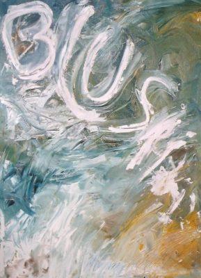 Blush · 1998 - Óleo sobre lienzo, 60 x 90 cm