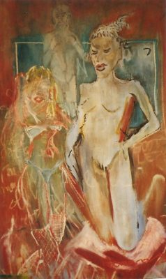 Bootleg · Óleo sobre lienzo, 80 x 140 cm