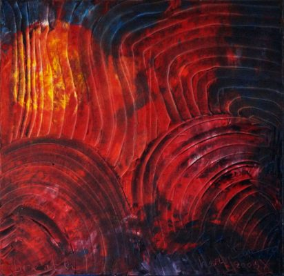 Breath · 2005 - Óleo sobre lienzo, 70 x 70 cm
