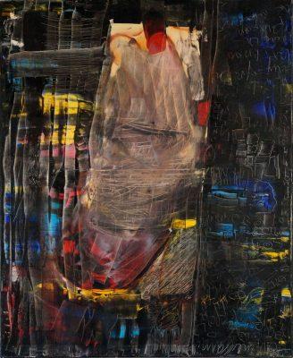 Homenaje a la mujer · 2011 - Óleo sobre lienzo, 80 x 100 cm