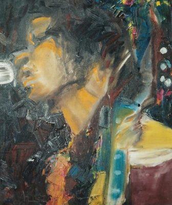Elecctric ladyland · 2004 - Óleo sobre lienzo, 50 x 60 cm