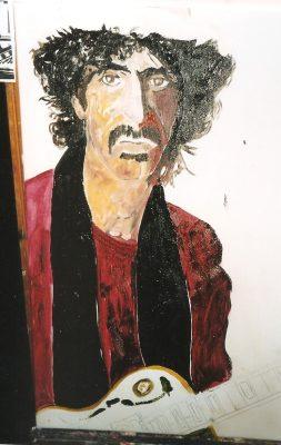 Hot rats · 2001- Óoleo sobre lienzo, 40 x 70 cm