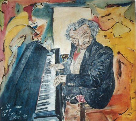 Jaan · 1998 - Óleo sobre lienzo, 110 x 90 cm