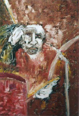 Jazz · 2000 - Óleo sobre lienzo, 70 x 100 cm