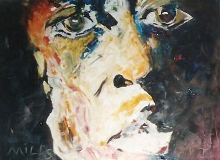 Miles · 2005 - Óleo sobre lienzo, 100 120 cm