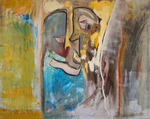 Wall of shame · 2013 - Óleo sobre lienzo, 150 x 120 cm