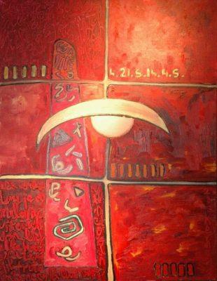 Duende · 2006 - Acrílico sobre madera, 140 x 190 cm
