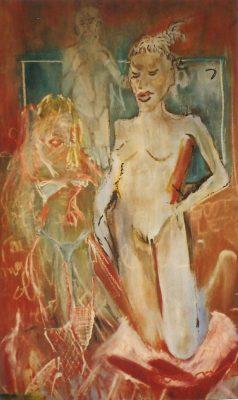 Saint trinity · 1996 - Óleo sobre madera, 110 x 160 cm