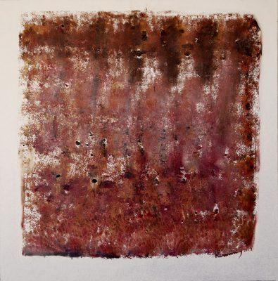 Mali · 2013 - Óleo sobre lienzo, 100 x 100 cm